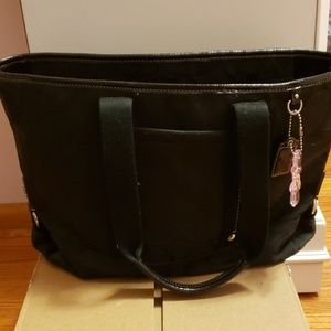 Coach Tote Bag with Detachable Crossbody Strap